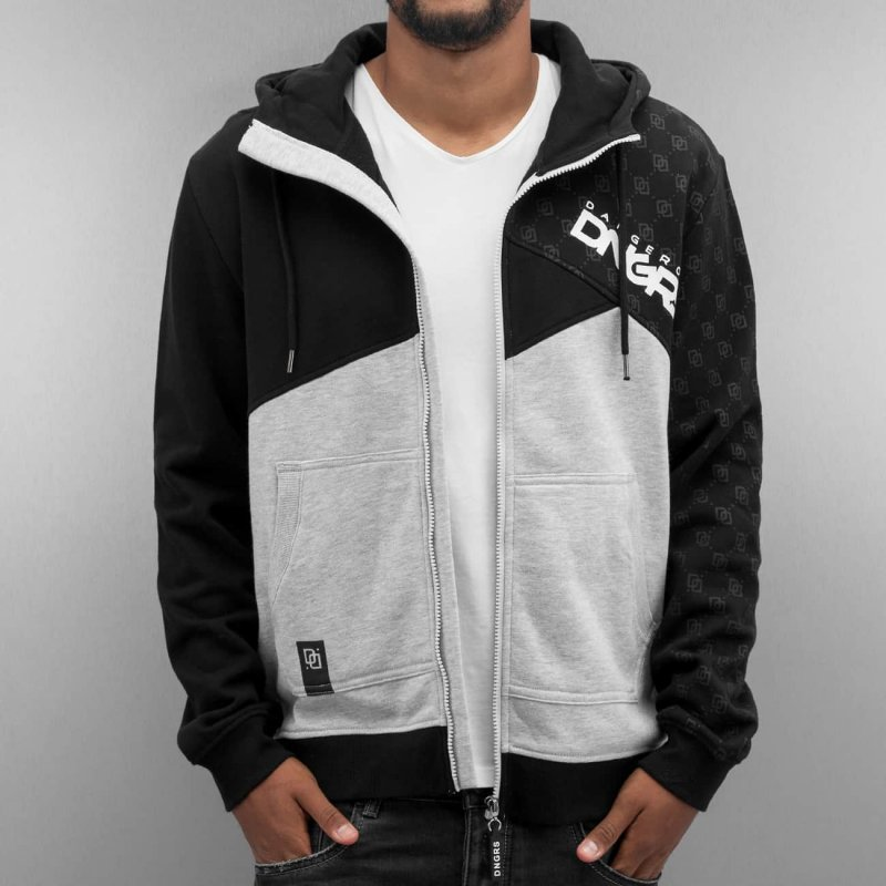 Dangerous mikina Zip Hoodie Limited Edition Grey - 312673