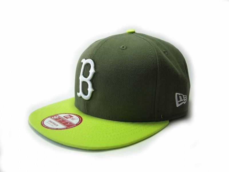New Era  Block 4 Boston Red - 5198